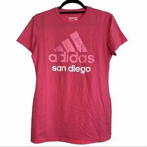 Pink Adidas tee